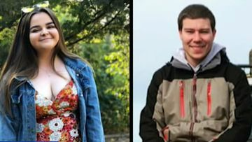 Shannon Lowden, 21, and Caleb Forbes, 22, have been missing since Sunday.