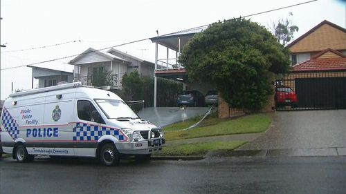 Police believe the death is suspicious. Picture: 9News
