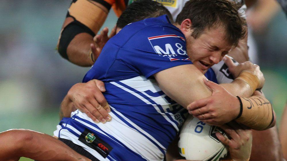 Morris bags double in Bulldogs' NRL win