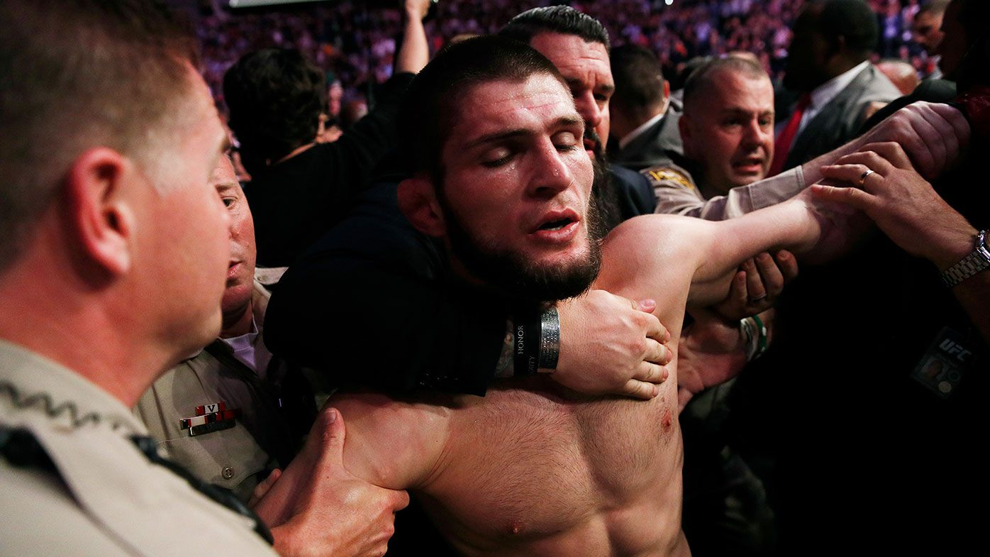 Khabib Nurmagomedov after UFC 229