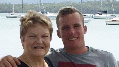 Brock Prime, 29, has been working six days a week to support his mother and younger siblings after the sudden death of his father, his family told 9NEWS. (Supplied)