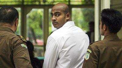 Australian Myuran Sukumaran is led away from court in 2005. (AAP)
