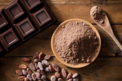 <strong>Unsweetened cacao powder</strong>
