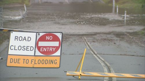 Gold Coast residents have been warned not to drive through floodwaters.