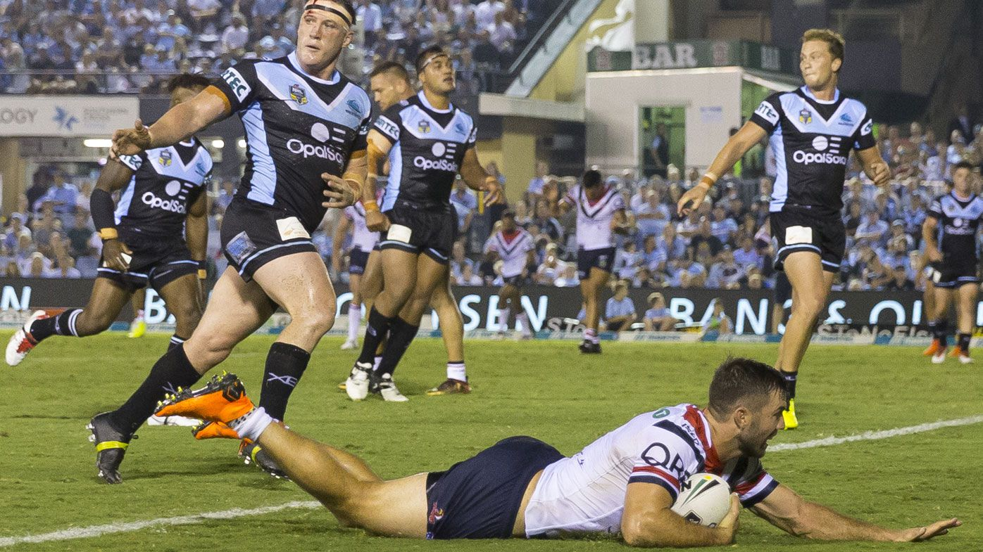 Roosters forwards power way to NRL victory