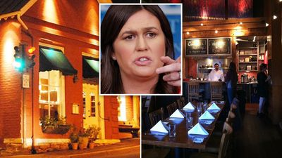 Sarah Huckabee Sanders 'kicked out of restaurant over Trump ties'
