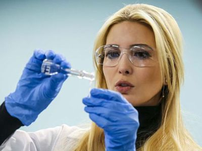 Ivanka Trump tries her hand at 'science', 2018