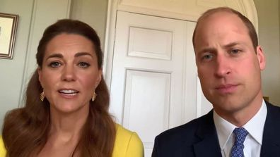 William and Kate have recorded a special video message for Australian first responders.