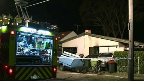 The fire is not being treated as suspicious. (9NEWS)