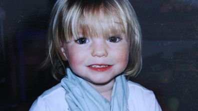 Madeleine McCann. (Getty)