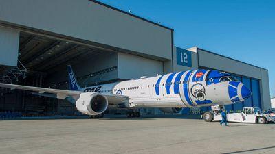 The plane seats 215 passengers . (Facebook)
