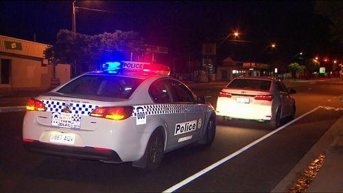 Patrols located the stolen Toyota sedan