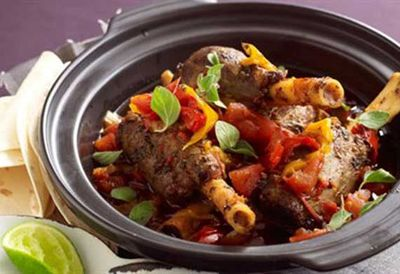 Tuesday: Mexican slow-roasted lamb shanks