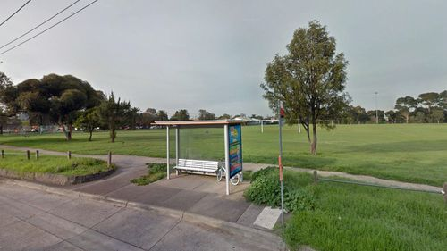 The woman was allegedly attacked in Mayer Park in Thornbury.