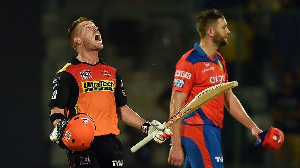 Warner leads Hyderabad to IPL final