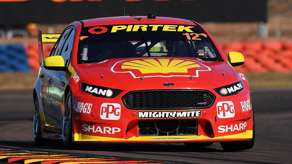 Coulthard wins Darwin Supercars opener