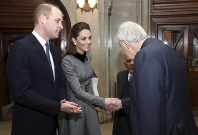William and Kate attend Holocaust commemoration
