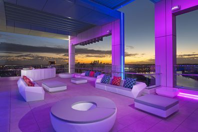 Aloft Perth, hotel, rooftop