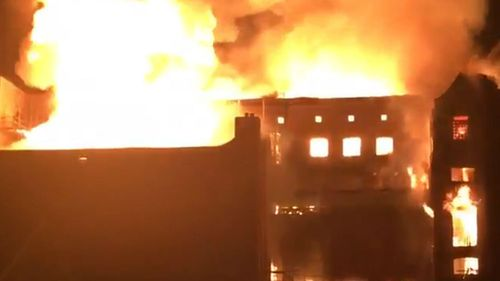 A second fire has hit the Glasgow School of Art, four years after an earlier blaze