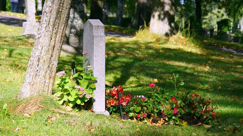 People are tending opt for less burials these days, with around 70 percent of Australians being cremated.