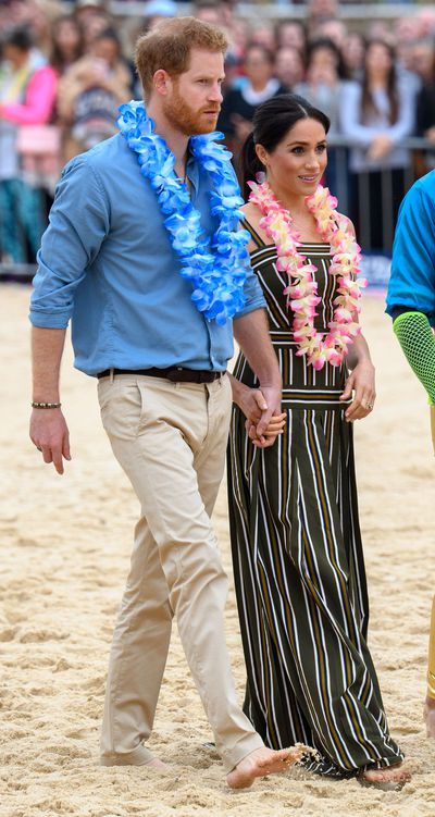 The Duke and Duchess go barefoot on Bondi Beach