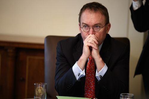 White House chief of staff Mick Mulvaney says the President doesn't want to shut down the government again, but he will if he has too.