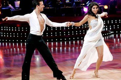 Heading down a much more chic route, Kim joined the cast of Dancing With The Stars in 2008