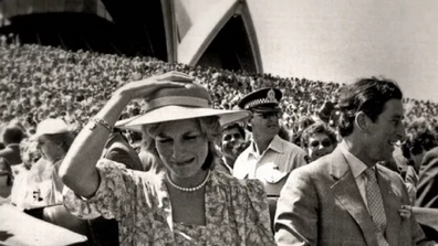The photo was captured by Lennox during the royal's appearance at the Sydney Opera House.