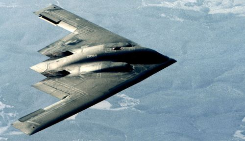 A B-2 bomber.