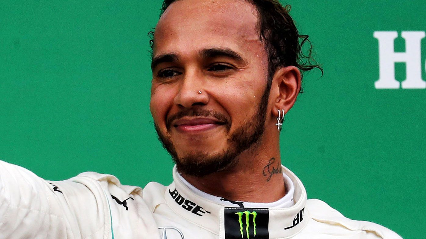 Five-time Formula One world champion Lewis Hamilton