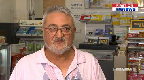 Owner Tony Passarella described the moment the knife-man walked in.