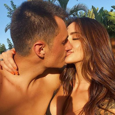Bernard Tomic and Vanessa Sierra