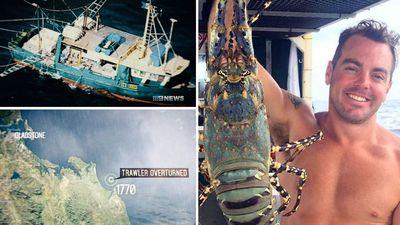 Trawler survivor heard crewmates 'screaming' in sinking trawler