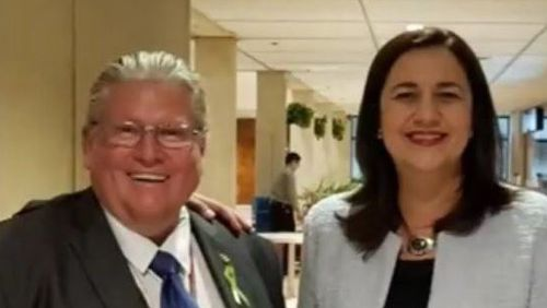 Former Labor MP Rick Williams was dumped by the Queensland Premier last week.