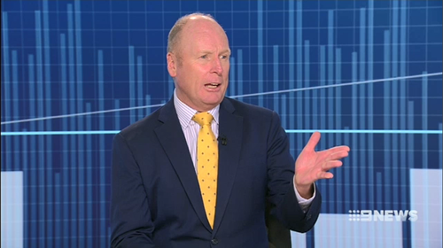Nine's Finance Editor Ross Greenwood believes the RBA has held interest rates to limit pressure on household. Picture: 9NEWS.