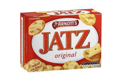 Jatz Original: 19 calories/81kj per biscuit