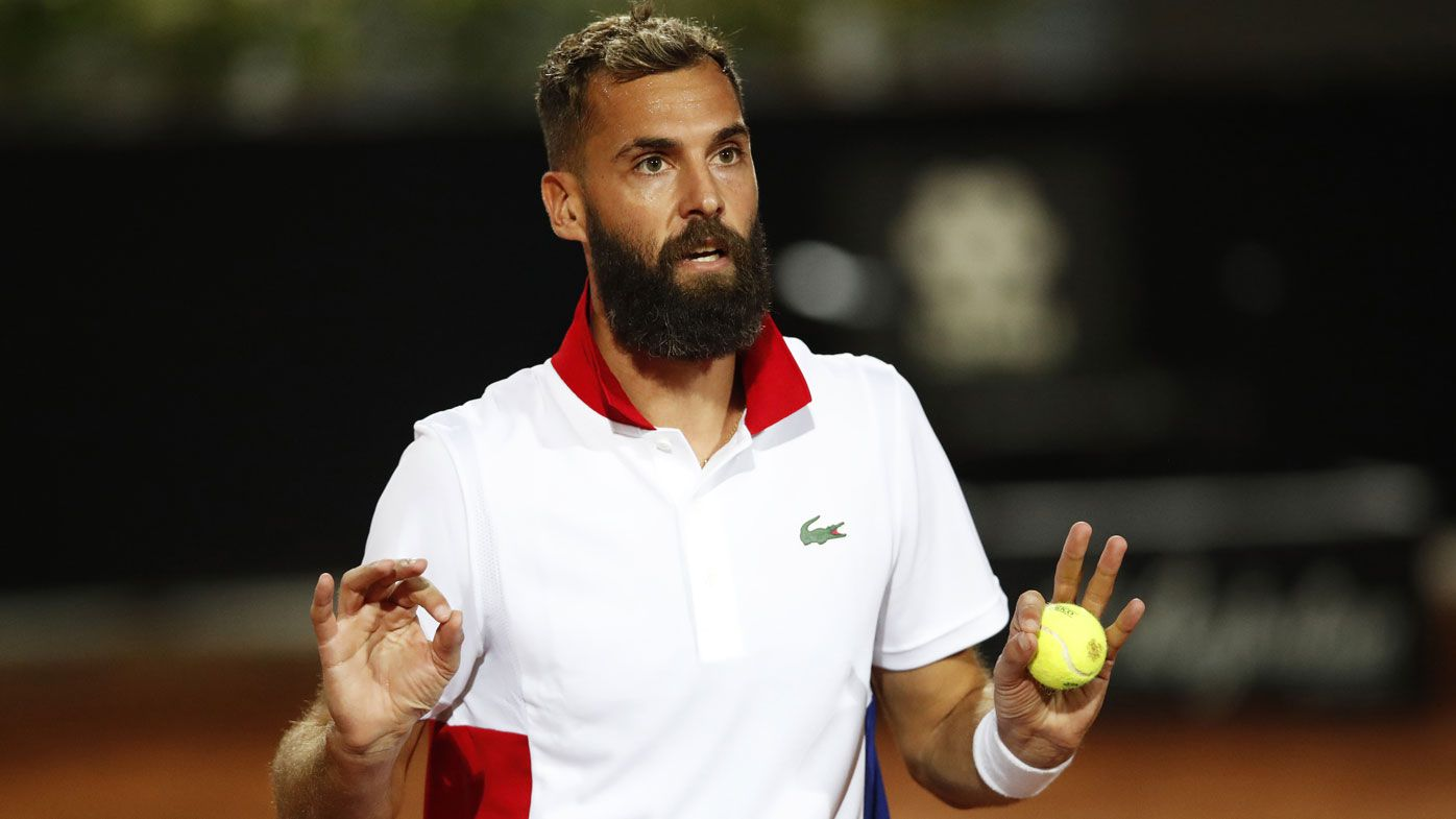 Benoit Paire doesn't try at Italian Open after isolation due to US Open COVID-19