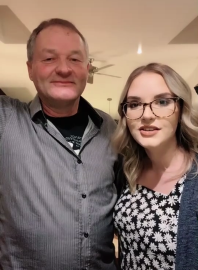 Daughter-father duo catch 'cheating' boyfriend in hotel room stitch-up