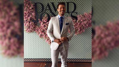 Fashion ambassador Jason Dundas in Calibre Australia. (Instagram / @davidjonesstore)