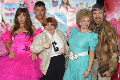 Left to right: Kim, Brett, Sharon, Kath and Kel.<br/><br/>Image: Getty