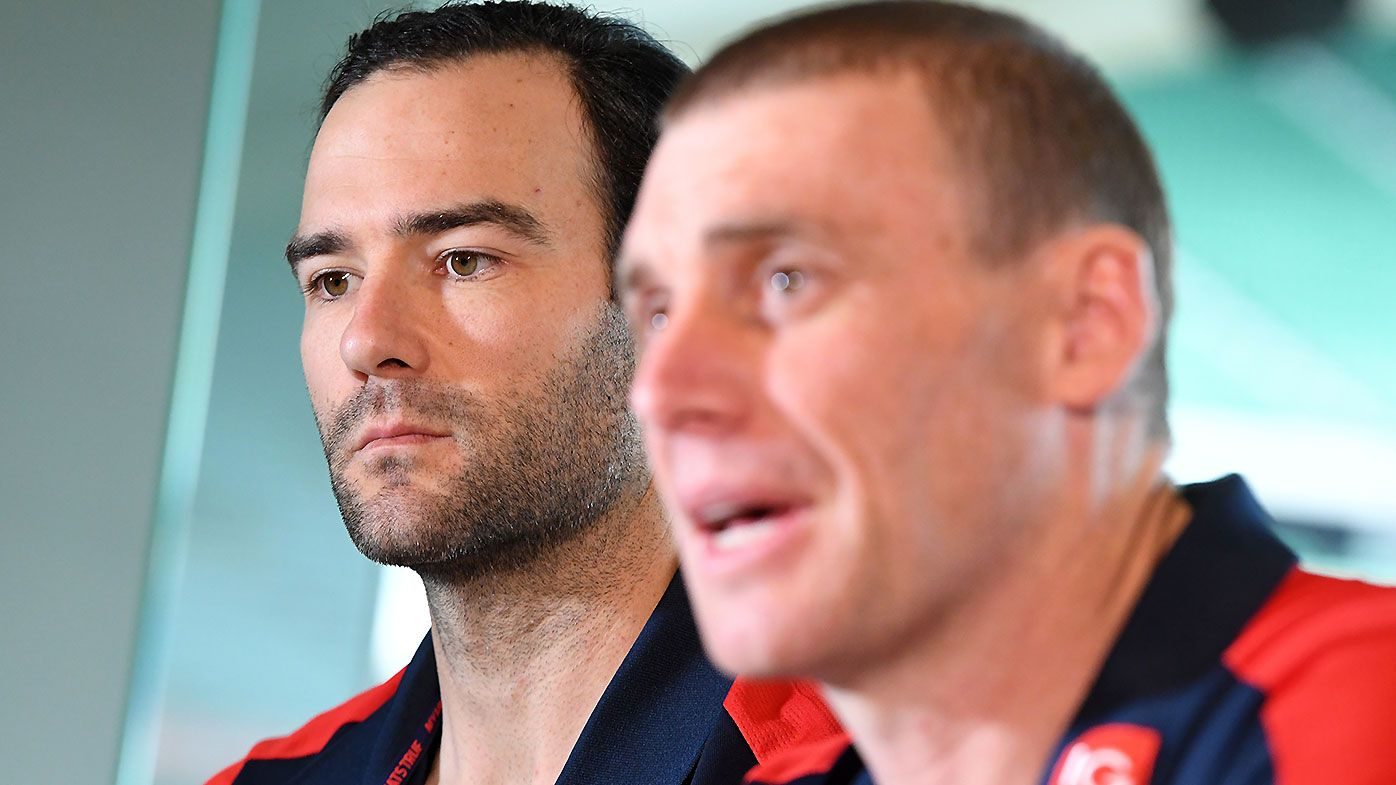 Jordan Lewis launches stunning defence of under-fire coach Simon Goodwin