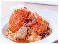 Portuguese seafood risotto