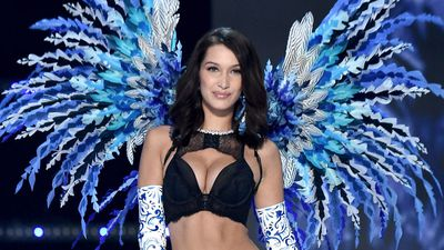 Fallen Angel: One model trips, another has a wardrobe malfunction during Victoria's Secret Fashion Show