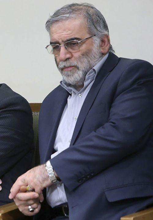 در این تصویر که توسط وب سایت رسمی دفتر رهبر معظم ایران منتشر شده است ، محسن فخری زاده در ملاقات با رهبر آیت الله علی خامنه ای در تهران ، ایران ، 23 ژانویه 2019 نشسته است