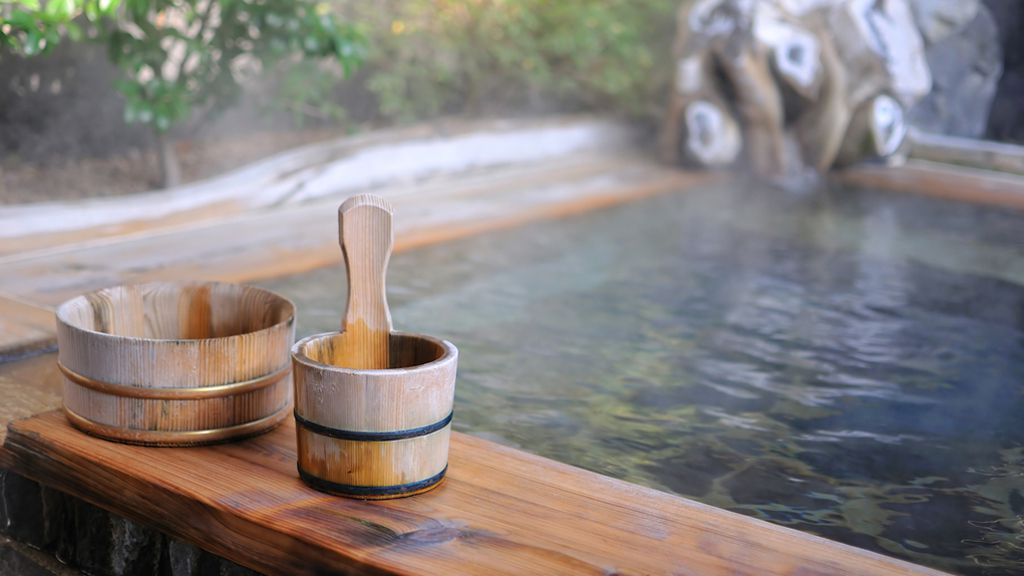 Japanese ryokan -- traditional inn with hot spring baths_thumb
