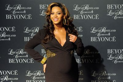 A heavily pregnant Beyonce was still hitting red carpets and press events well into her third trimester. <br/>