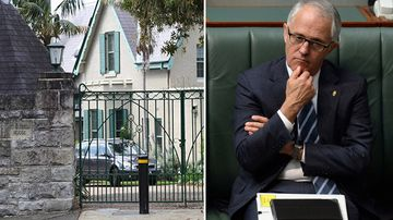 Mal has snubbed Kirribilli House - so why not rent it for the weekend? (Supplied)