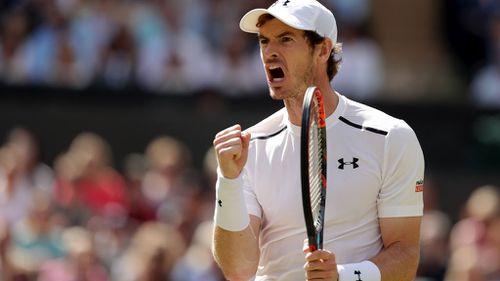 Andy Murray wins Wimbledon final (AAP)