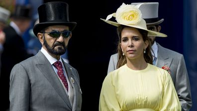 Princess Haya, wife of Dubai's Sheikh Mohammed, flees to London 'in fear'