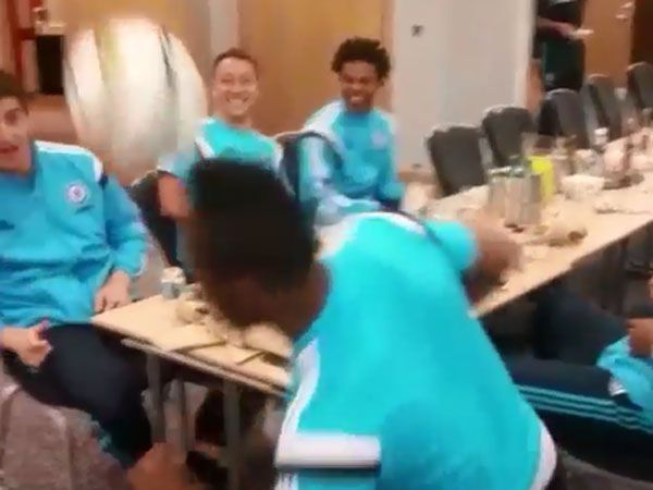 Chelsea stars show their flair at the dinner table